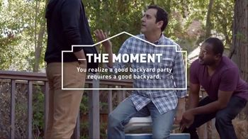 Lowe's Spring TV Spot, 'Good Backyard Moment: Premium Mulch'