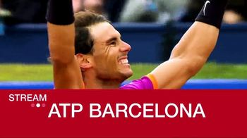 Tennis Channel Plus TV Spot, 'ATP Barcelona' - 67 commercial airings