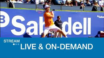 Tennis Channel Plus TV Spot, 'ATP Barcelona' - Thumbnail 7