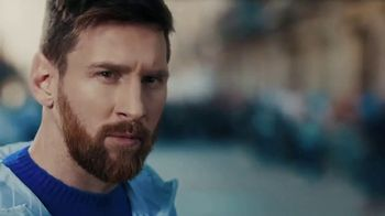 Pepsi TV Spot, 'Paint the World Blue' con Lionel Messi [Spanish] - 4039 commercial airings