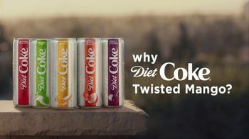 Diet Coke Twisted Mango TV Spot, 'It's a Wild Child' - Thumbnail 2
