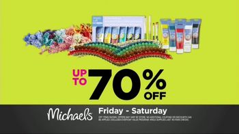 Michaels Spring Black Friday Sale TV Spot, 'Save Time, Buy Online' - Thumbnail 6