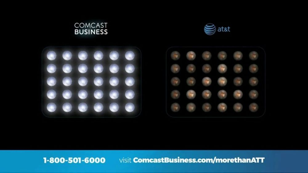 Comcast Business TV Commercial, 'Comparison'