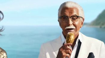KFC Crispy Colonel Sandwich TV Spot, 'Bossa Crispy' Feat. George Hamilton - Thumbnail 5