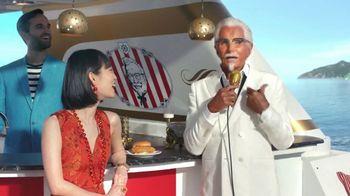 KFC Crispy Colonel Sandwich TV Spot, 'Bossa Crispy' Feat. George Hamilton - Thumbnail 7