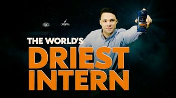 Degree TV Spot, 'ESPN: The World's Driest Intern' Featuring Kenny Mayne - Thumbnail 1