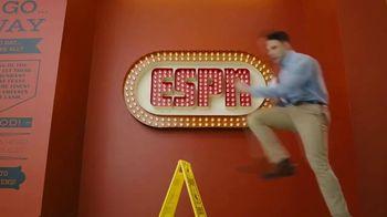 Degree TV Spot, 'ESPN: The World's Driest Intern' Featuring Kenny Mayne - Thumbnail 5