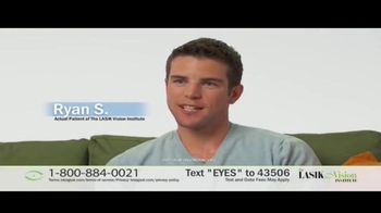 The LASIK Vision Institute TV Spot, 'Stop Dreaming About Better Vision'