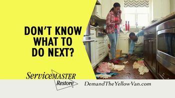 ServiceMaster Clean TV Spot, 'Restore Peace of Mind'