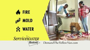 ServiceMaster Clean TV Spot, 'Restore Peace of Mind' - Thumbnail 2
