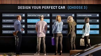 2018 Chevrolet Cruze TV Spot, 'Design Your Perfect Car'