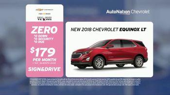 AutoNation Super Zero Event TV Spot, '2018 Chevrolet Equinox & Silverado' - Thumbnail 5