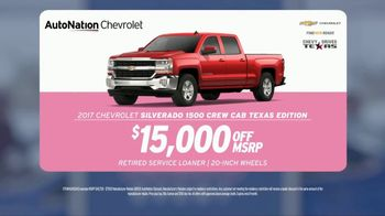 AutoNation Super Zero Event TV Spot, '2018 Chevrolet Equinox & Silverado' - Thumbnail 6
