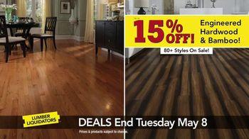 Lumber Liquidators Everywhere Flooring Sale TV Spot, 'Save Big'