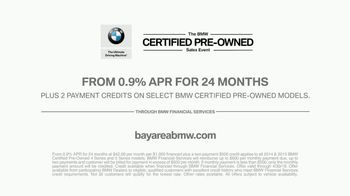 BMW Certified Pre-Owned Sales Event TV Spot, 'Wash' [T2] - Thumbnail 8