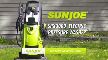 Sun Joe SPX3000 Pressure Washer TV Spot, 'Demolish Stubborn Grime'