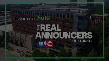 Hulu TV Spot, 'TNT: The Real Announcers of Studio J: Wine Party' - Thumbnail 1