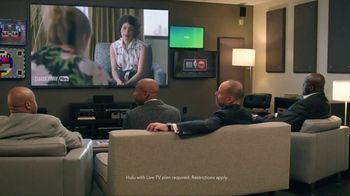 Hulu TV Spot, 'TNT: The Real Announcers of Studio J: Wine Party' - Thumbnail 2