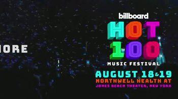 2018 Billboard Hot 100 Music Festival TV Spot, 'Jones Beach Theater' - Thumbnail 10