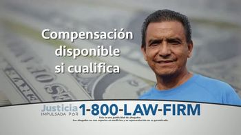 1-800-LAW-FIRM TV Spot, 'Alerta de cáncer' [Spanish]