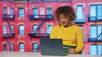Microsoft Surface TV Spot, \'Courtney Quinn: Creating Inspiring Content\'