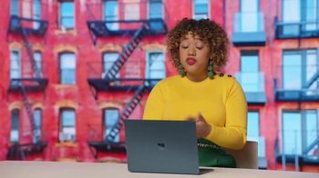 Microsoft Surface TV Spot, 'Courtney Quinn: Creating Inspiring Content'