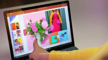Microsoft Surface TV Spot, 'Courtney Quinn: Creating Inspiring Content' - Thumbnail 4