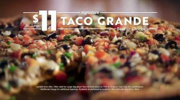 Papa Murphy's Taco Grande Pizza TV Spot, 'Everything You Love' - Thumbnail 8