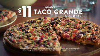 Papa Murphy's Taco Grande Pizza TV Spot, 'Everything You Love' - Thumbnail 9