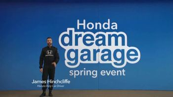 Honda Dream Garage Spring Event TV Spot, 'Dreams Do Come True: 2018 HR-V' [T2] - 397 commercial airings