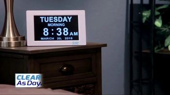 Clear as Day TV Spot, 'Boldly Displays the Date and Time' - Thumbnail 5