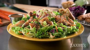 Zaxby's Zensation Salad TV Spot, 'Boring Lettuce' - 115 commercial airings
