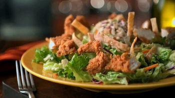 Zaxby's Zensation Salad TV Spot, 'Boring Lettuce' - Thumbnail 8