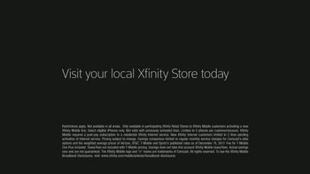 Comcast/XFINITY TV Spot, 'Just Getting Started: XFINITY Mobile' - Thumbnail 9