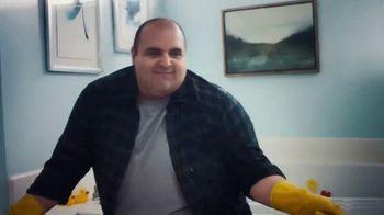 Pine Sol TV Spot, 'Bathroom' Song by Martin Solveig & GTA