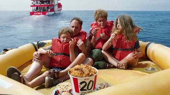 KFC $20 Extra Crispy Tenders Fill Up TV Spot, 'Rescued' - 2898 commercial airings