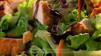 Zaxby's Zensation Zalad TV Spot, 'Back' - Thumbnail 9