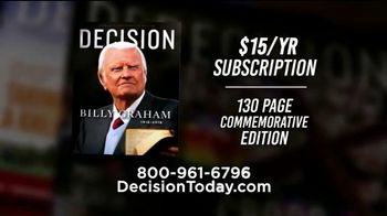 Decision Magazine TV Spot, 'Evangelical Voice' - Thumbnail 9