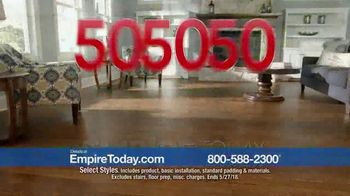 Empire Today 50-50-50 Sale TV Spot, 'Padding & Installation' - Thumbnail 3