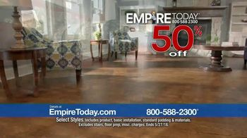 Empire Today 50-50-50 Sale TV Spot, 'Padding & Installation' - Thumbnail 4