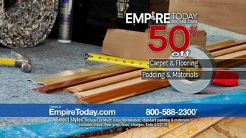 Empire Today 50-50-50 Sale TV Spot, 'Padding & Installation' - Thumbnail 6