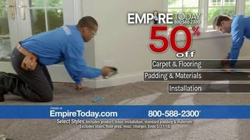 Empire Today 50-50-50 Sale TV Spot, 'Padding & Installation' - Thumbnail 7