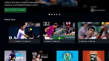 Tennis Channel Plus TV Spot, 'ATP 500, Masters 1000 Events' - Thumbnail 3