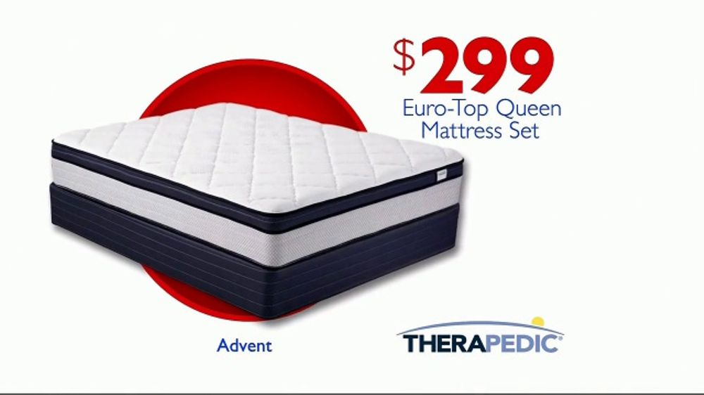 Rooms To Go Mattress >> Rooms To Go Storewide Mattress Sale Tv Commercial Euro Top Mattress Set Video