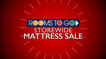 Rooms to Go Storewide Mattress Sale TV Spot, 'Euro-Top Mattress Set' - Thumbnail 2