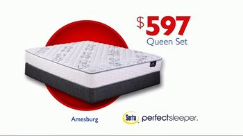 Rooms to Go Storewide Mattress Sale TV Spot, 'Euro-Top Mattress Set' - Thumbnail 9
