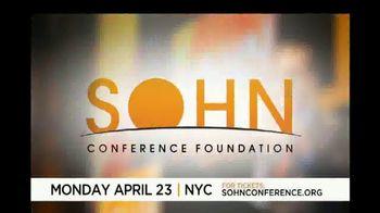 The Sohn Conference Foundation TV Spot, '2018 Sohn Conference' - Thumbnail 1
