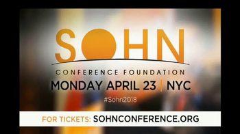 The Sohn Conference Foundation TV Spot, '2018 Sohn Conference' - Thumbnail 7