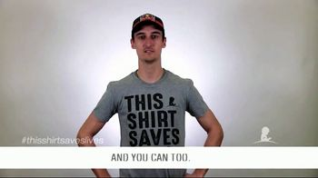 St. Jude Children's Research Hospital TV Spot, 'This Shirt Saves Lives' - 5 commercial airings