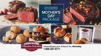 Omaha Steaks Mother's Day Package TV Spot, 'Steaks, Potatoes and Desserts' - Thumbnail 1